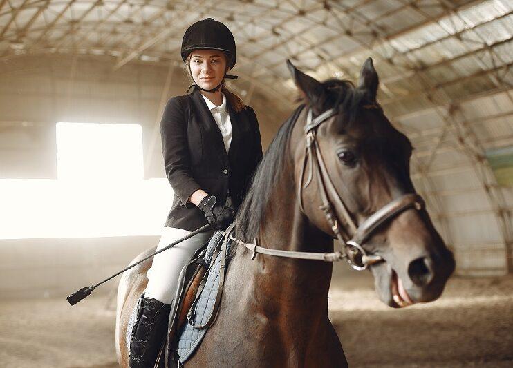 Pierwsze ubranie jeździeckie